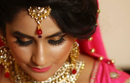 best bridal makeup lucknow